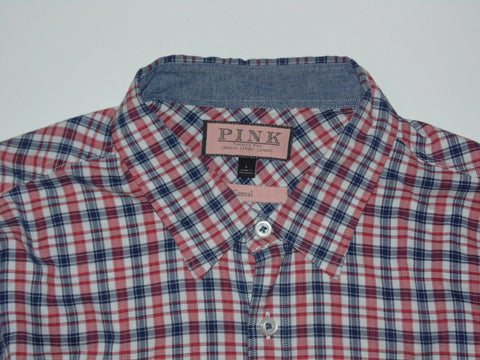 Thomas Pink red & blue checks shirt - large mens Casual - S6192