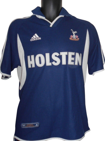 Tottenham Hotspur 2000-01 away shirt small mens #S651.