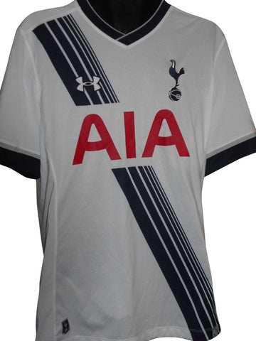 Tottenham Hotspur 2015-16 home shirt Large mens KANE 10 #S838.