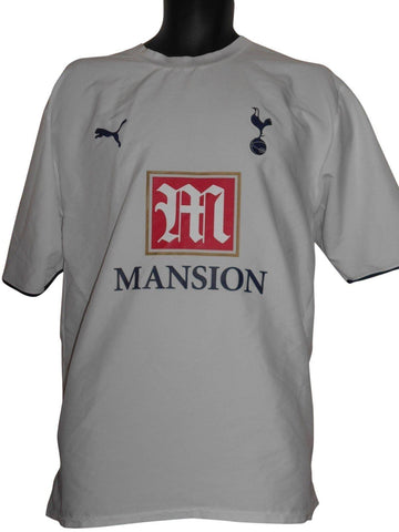 Tottenham Hotspur 2006-07 home shirt XL mens ZOKORA 4 #S633.-Classic Clothing Crib