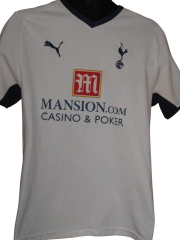 Tottenham Hotspur 2008-09 home shirt Medium mens MODRIC 14 #S520.-Classic Clothing Crib