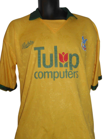Crystal Palace 1991-92 away shirt Medium mens #S316.