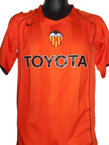 Valencia 2004-05 away shirt Small Mens #S431.-Classic Clothing Crib