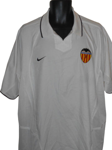 Valencia 2002-03 home shirt XL Mens #S871.