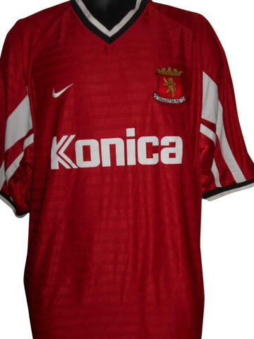 Valletta FC Malta home shirt Large Mens #S700.