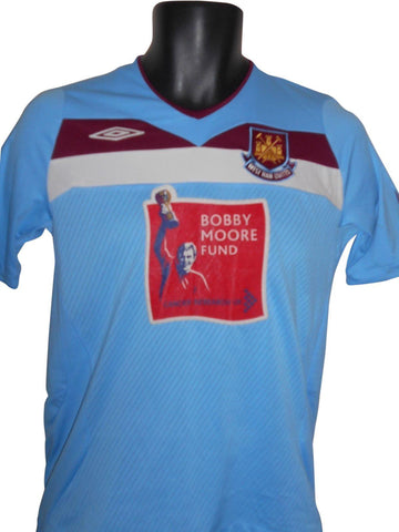 West Ham United 2008-09 away shirt large boys #S829.
