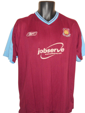 West Ham United 2003-05 home shirt Large Mens #S824.-Classic Clothing Crib