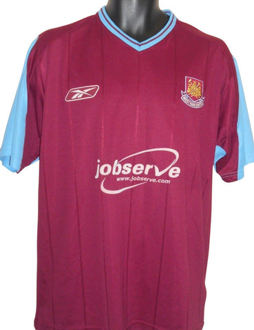 West Ham United 2003-05 home shirt Medium Mens #S800.-Classic Clothing Crib