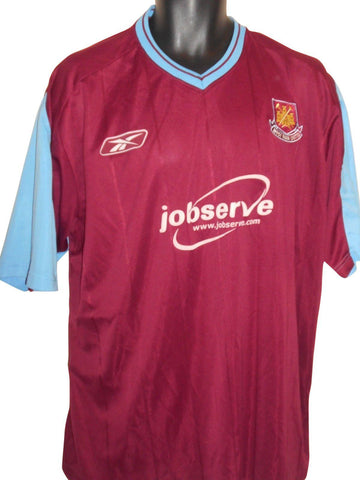 West Ham United 2003-05 home shirt XL Mens #S825.