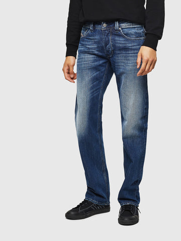 Diesel Larkee dark blue denim jeans 008XR regular straight