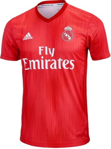 mens Real Madrid 2018-19 third football shirt #MODRIC 10-Classic Clothing Crib