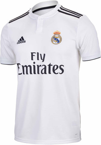mens Real Madrid 2018-19 home football shirt-Classic Clothing Crib