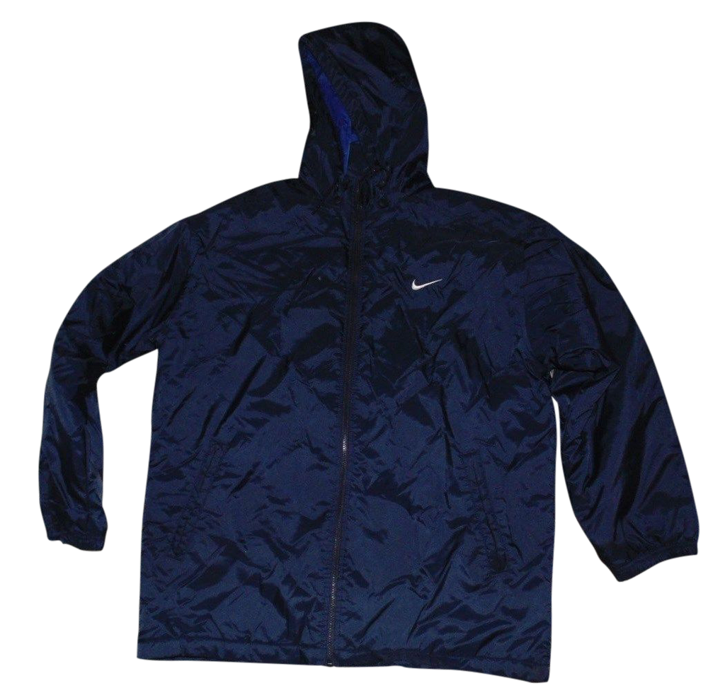 1f451c209e3e Mens Nike navy blue puffer jacket - medium winter coat - DLJ111 - Classic  Clothing Crib