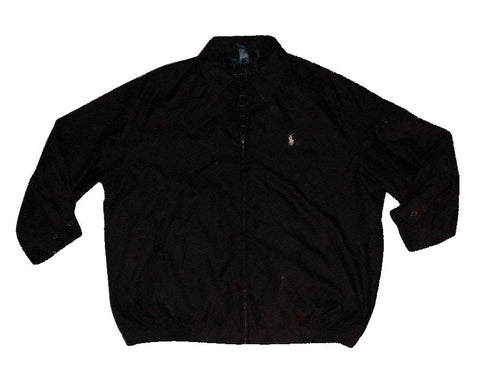 Mens Ralph Lauren black Harrington Bomber Jacket Large - DLJ110