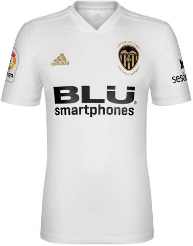 Valencia CF 2018-19 home Adidas football shirt