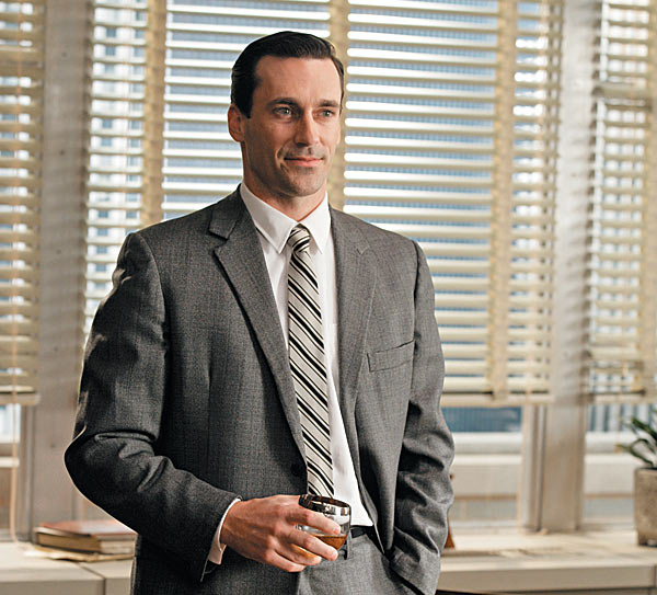 don draper with mixed drink