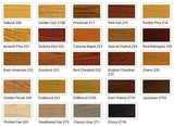 wooden bar furniture stain options