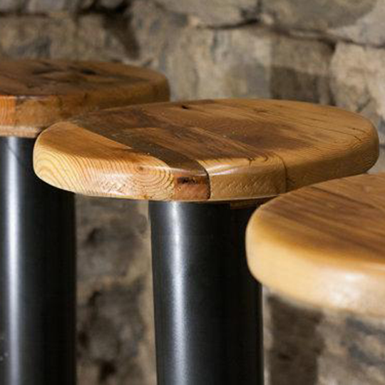 simple mario kale is pedestal mod and trends stool stools by ferrarini sophisticated