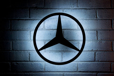 Mercedes Custom Metal Signs