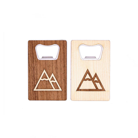 wood skin bottle opener