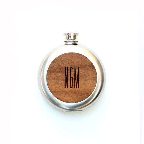 Wooden drinking flask - flasks for men