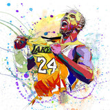 Kobe the great bryant basketball player