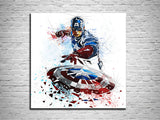 comic book hero captain america poster