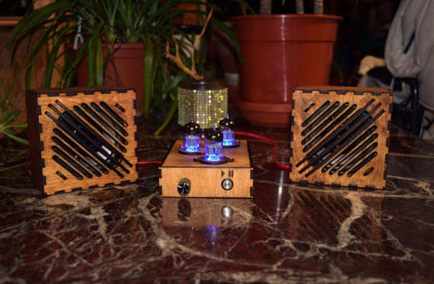Retro Steam Punk Bluetooth Speakers