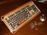 """The Edison"" Steampunk Keyboard"