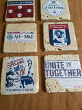 American Outlaw Drink Coaster Set