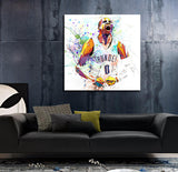 russell westbrook canvas art