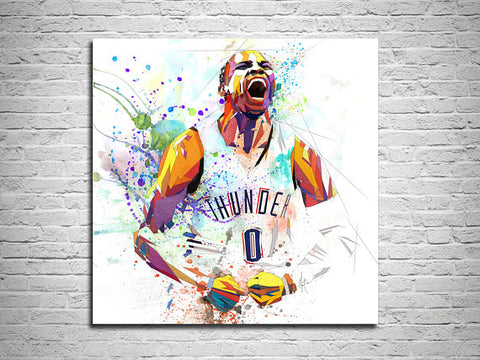 Russell westbrook basketball star picture