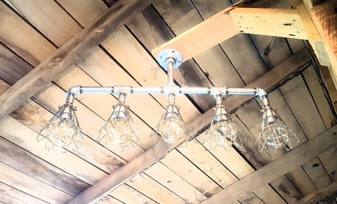 Galvanized Rustic Lighting
