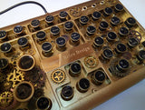 Quiet Keyboard - Steampunk Keyboard