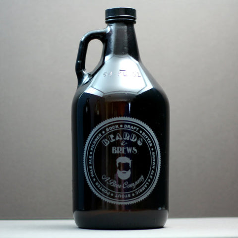 Beards and Brews Growler