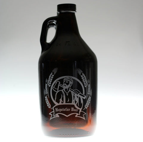 Personalized Lumberjack Growler