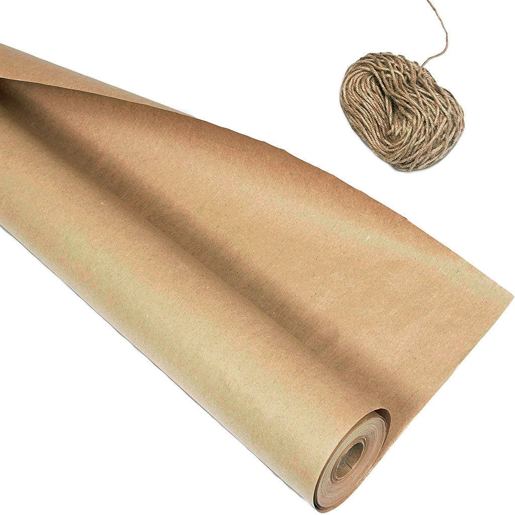 kraft paper wrapping paper 30 39 39 x1200 39 39 and rope 2400 39 39 blami a blami arts store. Black Bedroom Furniture Sets. Home Design Ideas