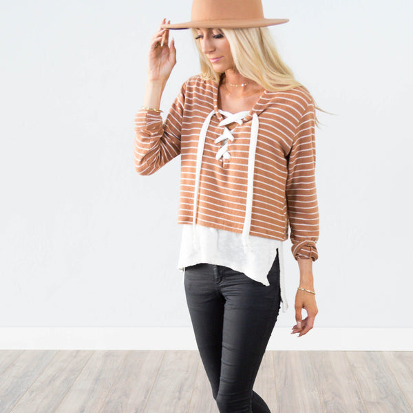 Splendid Stripe Top