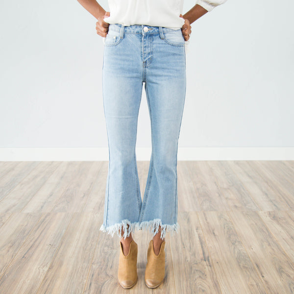 Elle Boyfriend Fit Denim