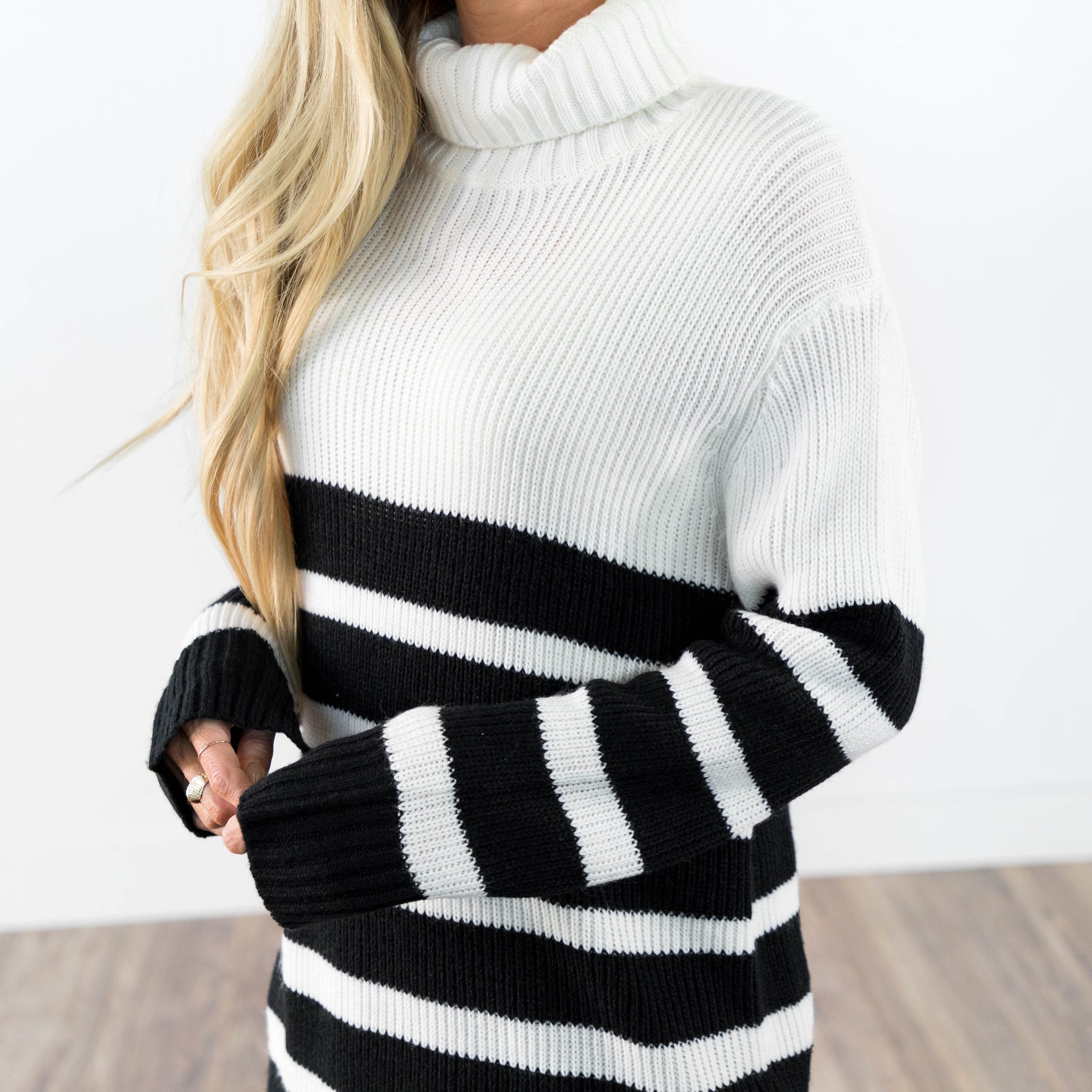 Cascade Stripe Sweater
