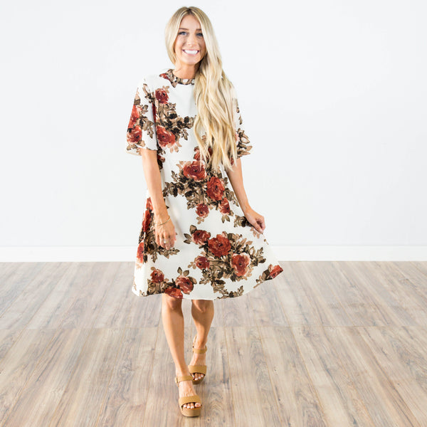 Piper Floral Dress