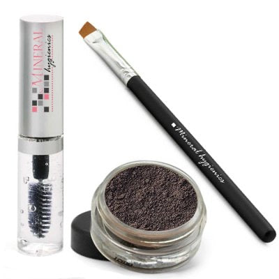 Mineral Brow Kit - Jet Black