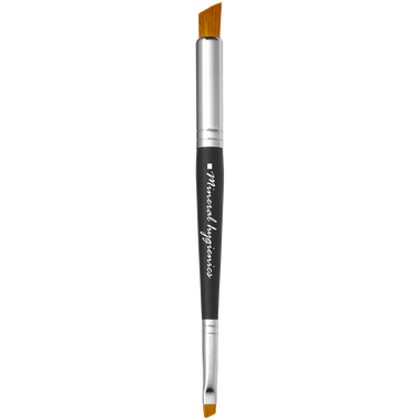Double ended flat liner brush