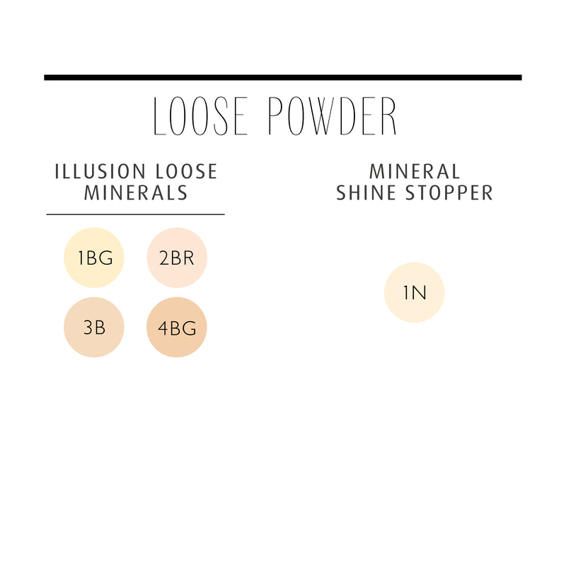 Illusion Loose Minerals 2BR Porcelain