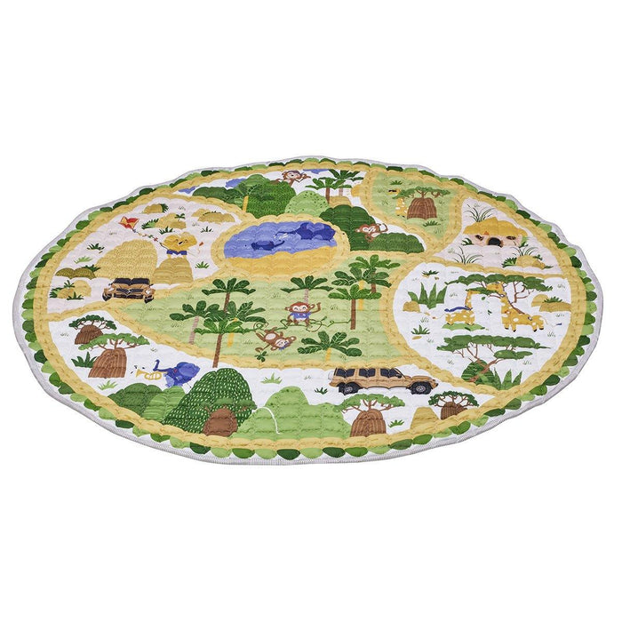 2-in-1 play blanket, Safari