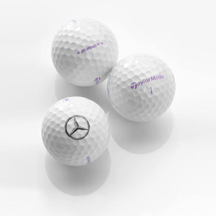 Golf balls, Burner lady, set of 3