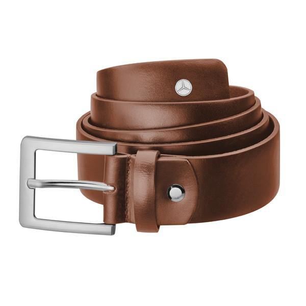 Men's Belt, Brown Leather