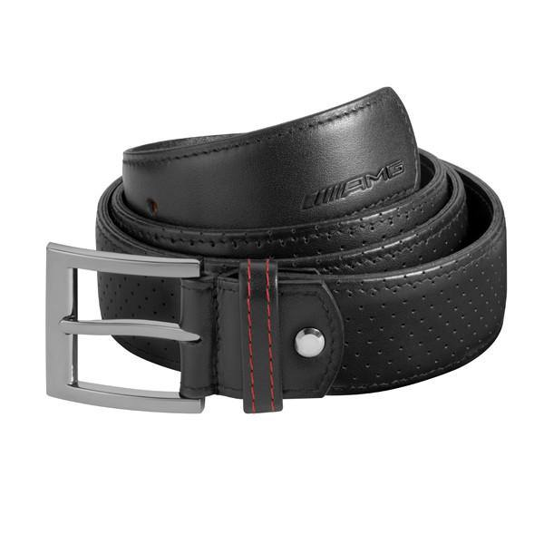 Belt, AMG, Black Leather