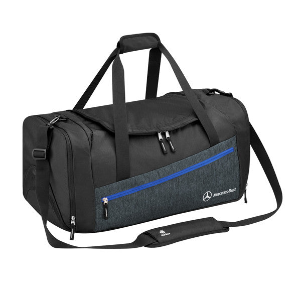 Sports Bag, Black Grey
