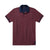 Polo Shirt, Dark Red, L